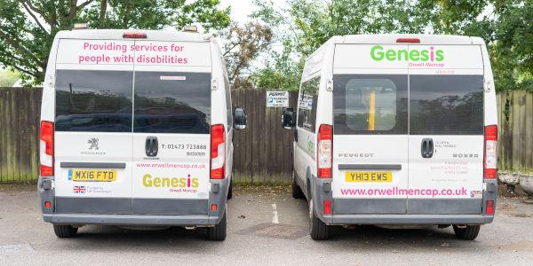 Genesis Orwell Mencap Van Pictures