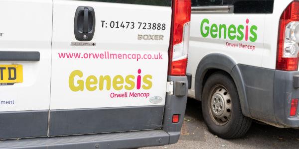 genesis vans