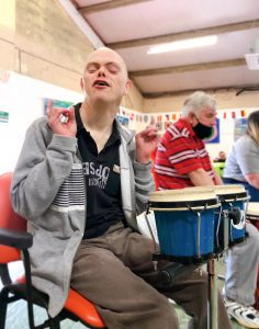 drumming activity at Genesis