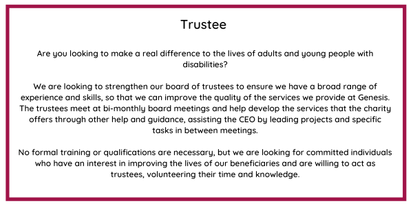 become a trustee